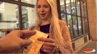 GERMAN SCOUT Teen Arteya bei erstem Porno Dreh