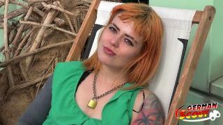 GERMAN SCOUT Deutsche Kylie aus Leipzig bei Strassen Casting gefickt