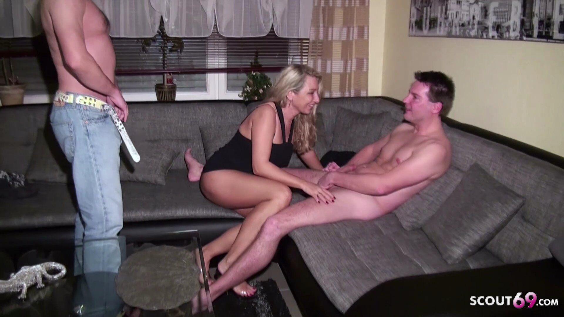 Fickt Ehefrau Front Ehemann