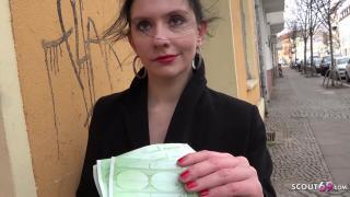 GERMAN SCOUT Kunst Studentin Anna Anal gefickt bei Casting