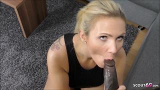 Tatjana Young bei privaten POV Sex mit Schwarzen Mega Schwanz