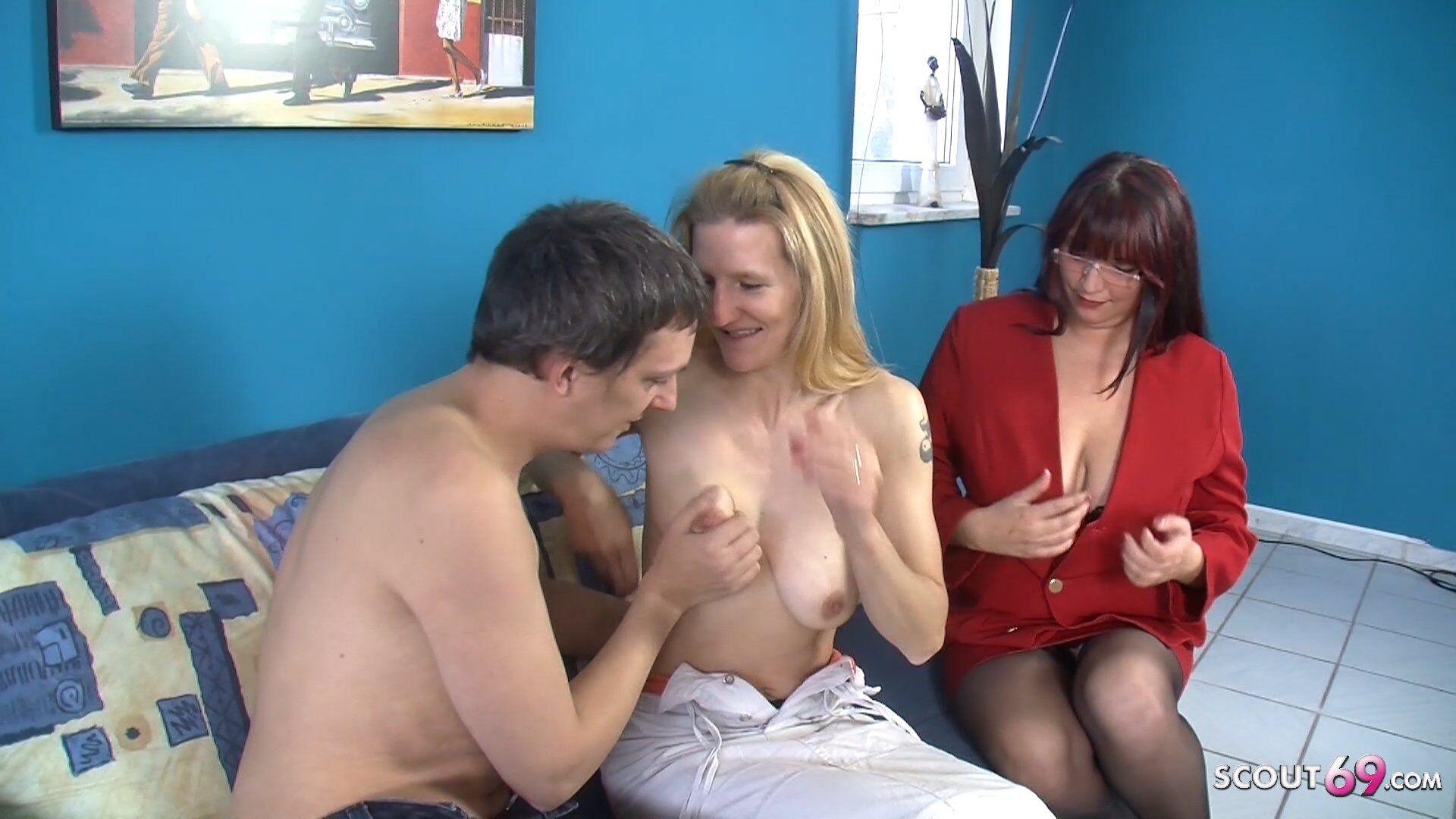 Porno Casting mit Schnellspritzer