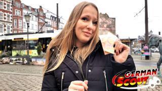 GERMAN SCOUT – BBW Teen Chanie aus Berlin Anal gefickt für Geld