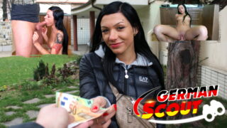 German Scout – schlanke Maus Adelle in München abgeschleppt und gefickt