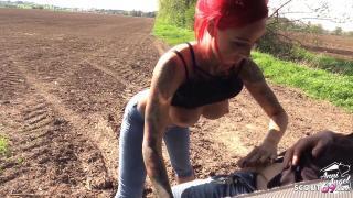 Anni Angel beim Usertreffen vom Bauern erwischt und im Puff weiter gefickt