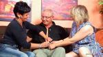Reife deutsche Hausfrau treibt es mit der alten Putzfrau und dem Nachbarn zusammen