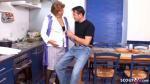 Sehr alte deutsche Omi vom halb so alten Pfleger einfach gevögelt